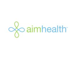 Logo, brand identity & brochure AIM Health