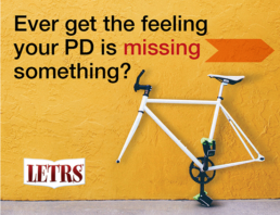Brand graphic design, ad campaign for teacher PD.