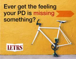 Brand graphic design, ad campaign for teacher PD.